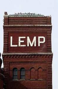 Lemp Brewery tower