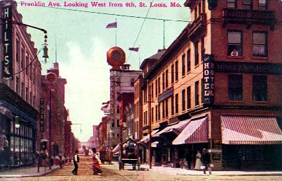 St Louis Missouri Early 1900s