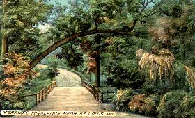 Historic Meramec Highlands west of St. Louis, Missouri