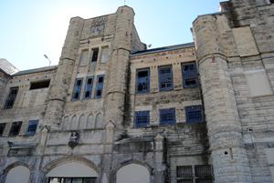 The old Missouri Penintentiary