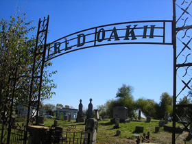Cemetery, Red Oak II, Missouri