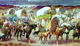 Trail of Tears Painting
