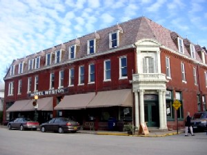 Hotel Weston in Weston, Missouri