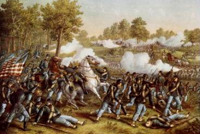Battle at Wilson Creek, Missouri