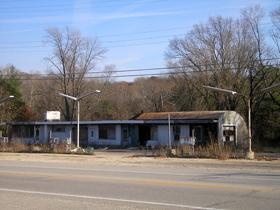 Zephyr Station west of Villa Ridge, Missouri