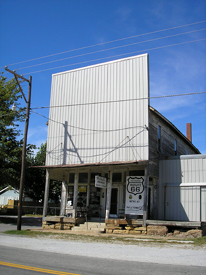 Whitehall Mercantile in Halltown, Missouri