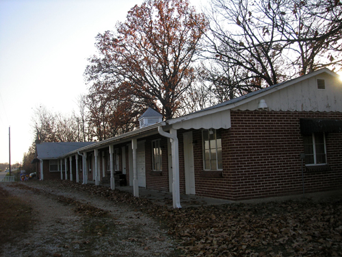 Old motel near Stanton, Missouri