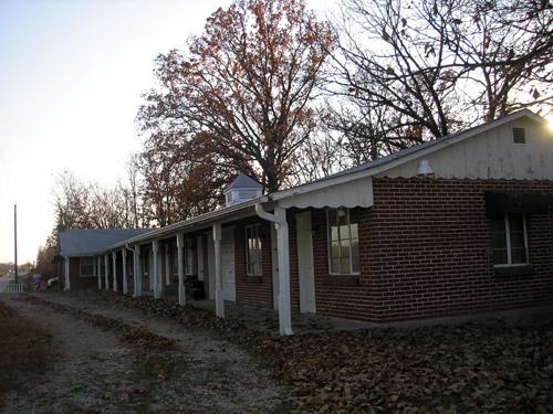Old motel near Stanton, Missouri