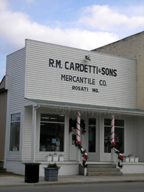 Cardetti Store in St James, Missouri