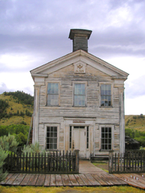 Masonic Lodge, Bannack, Montana
