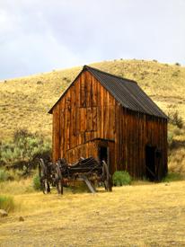 Bannack, Montana Barn