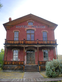 Bannack, Montana Courthouse