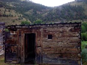Bannack Montana Jail