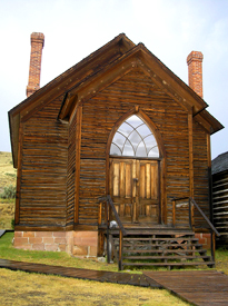 Methodist Church, Bannack, Montana