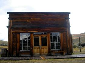 Skinner Saloon, Bannack, Montana