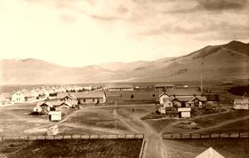 Fort Missoula, Montana, 1886