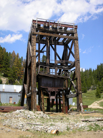 Granite, Montana head frame
