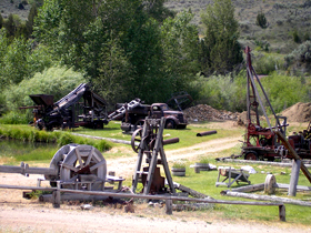 Mining Remains in Virginia City, Montana