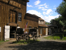Gilbert's Brewery, Virginia City, Montana