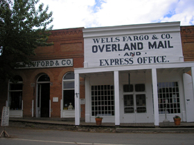 Wells Fargo, Virginia City, Montana