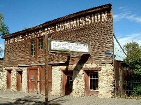 Livery and Blacksmith Shop, Virginia City, Montana