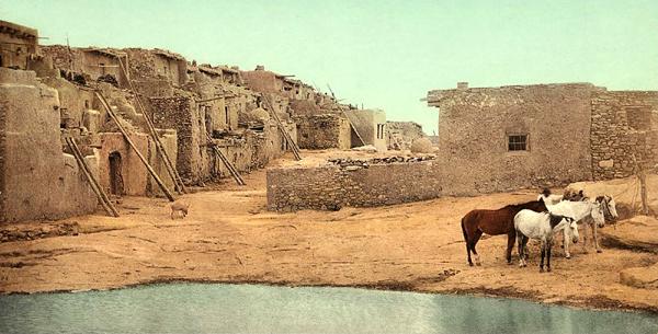 Acoma Pueblo about 1900