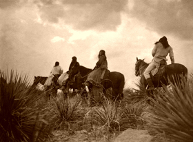Apache Before the Storm, by Edward S. Curtis, 1906