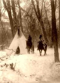 Absaroka winter camp