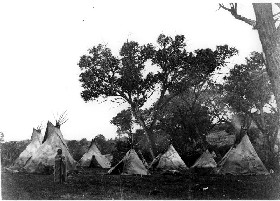 Arapaho Camp in 1868