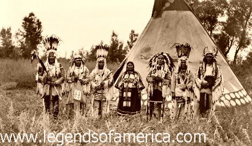 Old Photos - Blackfoot | www.American-Tribes.com