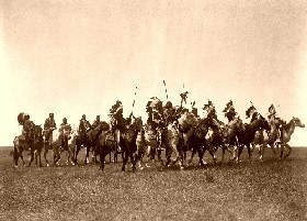 Brule War Party, 1907