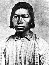 A Chickasaw brave