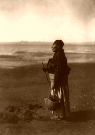 Chinook Indian Woman