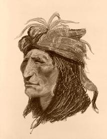 Creek Inian Warrior