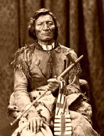Cheyenee Chief Dull Knife, 1873