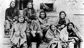 Cheyenne Prisoners from Dull Knife's Band, 1878