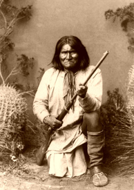 Geronimo in 1886.