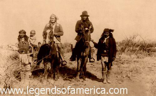 Chiricahua Apache, 1886, by C.S. Fly
