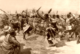 Ghost Dance by the Sioux