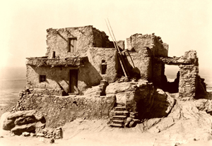 Hopi House in Walpi, Arizona, 1921