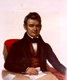 John Ross, first Chief of the Cherokee Nation