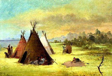 Kiowa Indian Camp