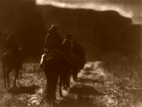 Navajo  - The Vanishing Race by Edward S. Curtis, 1904