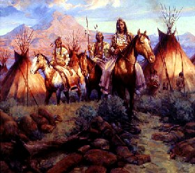 Northern Cheyenne Painting