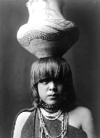 Pueblo Indian Girl