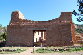 San Jose de los Jemez Church, Jemez State Monument, New Mexico