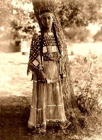 Sioux Maiden, 1908.