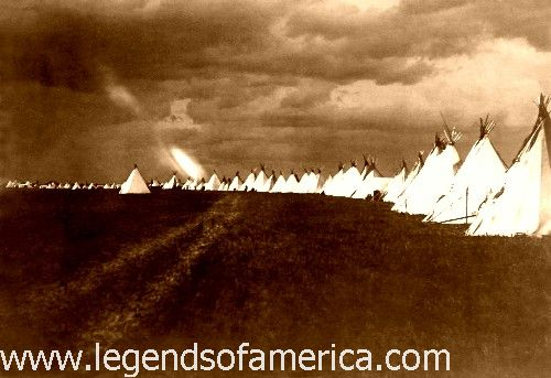 Sioux teepees, 1902
