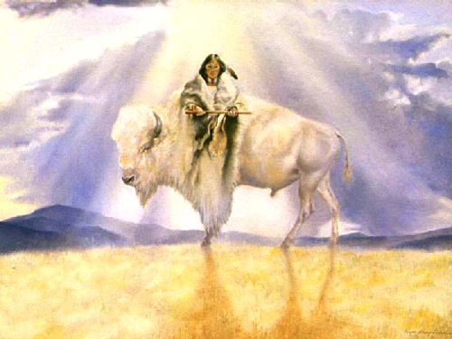 Kevin Clontz The White Buffalo Calf Woman