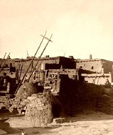 Zuni Pueblo, 1873